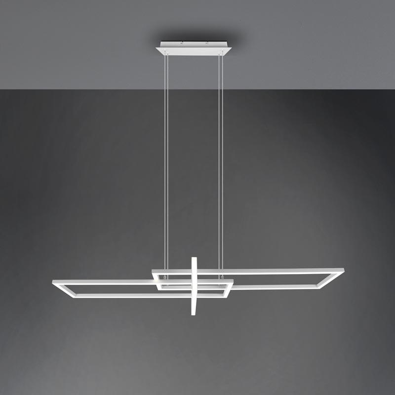 Pakabinamas LED šviestuvas Salinas matinė balta